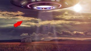 Riddle Of UFO Spotted In Sky Caught On Camera!! Huge UFO Sighting