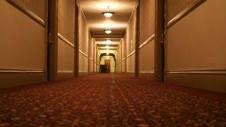 Ghost Slams Door at the Stanley Hotel