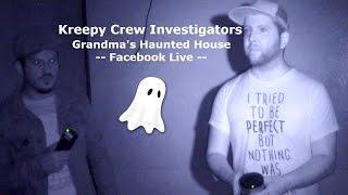 Ghost Hunting | Kreepy Crew Facebook Live Video