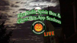 LIVE Ghost Box Radio & App Sessions, Attempting Spirit Communication