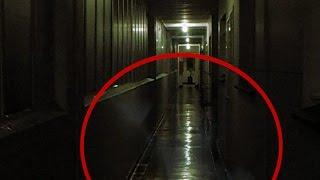 Ghost caught on tape - spirit from another world trying to communicate?