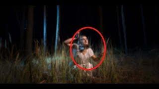 Ghost Caught Live On Mobile Camera   Ghost Figure Spotted In A Deserted House   Human Like Figure!!