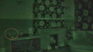Violent Ghost Caught On Tape Attacks Camcorder!  Very Scary Real Poltergeist Activity