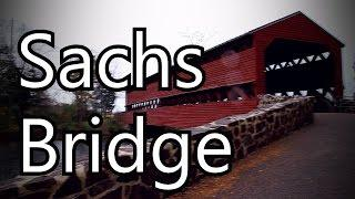HAUNTED SACHS BRIDGE IN GETTYSBURG!
