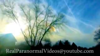 Strange Sounds Coming From Heavens Recorded On Camera, Strange sounds heard Around Globe.