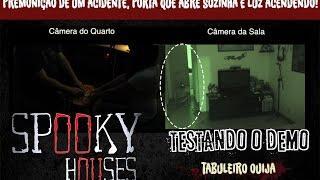 Spooky Houses - Testando o Demo - Tabuleiro Ouija