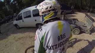 GoPro Swivel Mount - 360 Helmet Mount -  Roz trail Parnitha - DH
