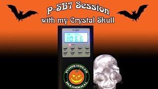 P-SB7 Spirit Box & Crystal Skull Session on 01-02-2016