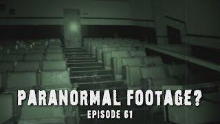 Real Paranormal Footage! │ Ghost at Haunted Theater? (DE Ep. 61)