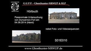 Paranormale Ermittlung in Irland - Duncannon Fort am 04.09.2014 - Hörbuch S01E010