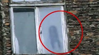 Real Ghost In Haunted Abandoned Building | Creepy Real Ghost Sighting From An Old Building England