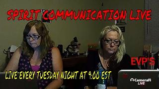 The G Team Paranormal LIVE WITH SPIRIT CONTACT