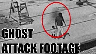 OMG! Real Ghost Attack Caught On CCTV Camera From Railway Station | Ghost CCTV Footage | Scary Video