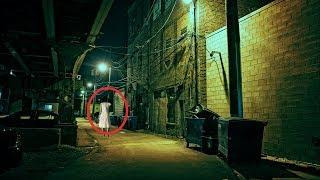 Ghost Screaming On Haunted Road | Real Ghost Caught On Camera | Scary Videos 2017 | Ghost Sightings