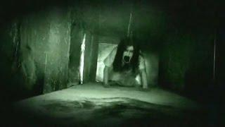 Terrific Ghost Encounter From A Haunted Building | Scary Videos 2016 |  Real Ghost Caught On Camera