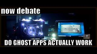 FOR/AGAINST GHOST APPS? WHY OUR RESPONSES DIFFER FROM CHILL SEEKERS, HUFF AND HOPE PARANORMAL