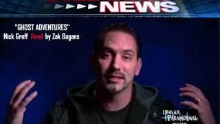 Ghost Adventures Nick Groff Fired by Zak Bagans