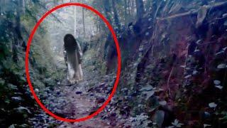 Ghost Walking In An Abandoned Place Caught On CCTV Camera!!