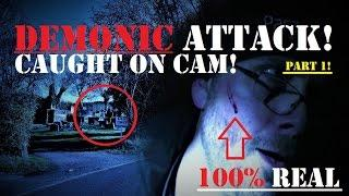 GHOST Hunting GONE WRONG! | DEMONIC Attack | Real PARANORMAL Activity | HAUNTED Graveyard | Part 1!