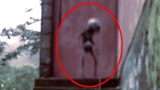 Alleged 'Ghosts' Caught By Home Security Cameras | Ghost Sightings 2017