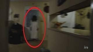 Ghost Caught On Camera Opening Bedroom Door