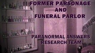 Paranormal Answers Research Team, Anderson, IN, Former Parsonage, 2/1/2014